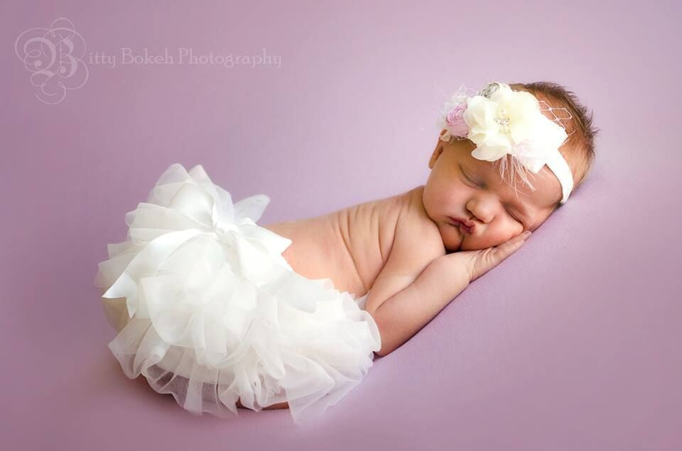 The Audrey - Headband and Tutu Bloomer Set