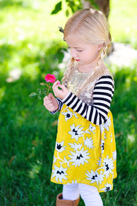 Long Sleeve Toddler Dresses/ Tunics
