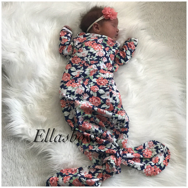 Newborn Floral outfit
