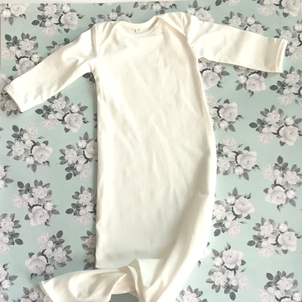 Newborn Knotted Gowns ...Layette Gown
