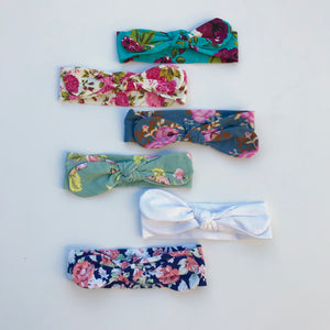 Fabric Tie Headbands