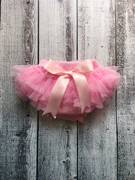 Pink Ruffle Bloomers
