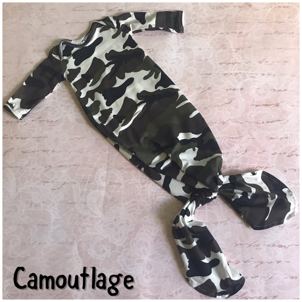 Camo baby outfit