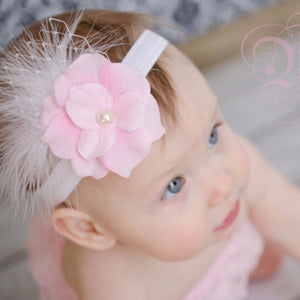The Ava - Feathery Floral Headband