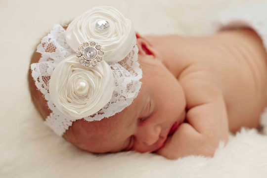 Vintage Inspired Headband and Bloomer Set