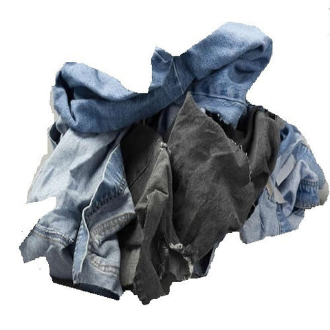 Denim Welder's Rags