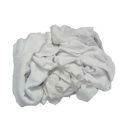 White Knit Painter's Rags