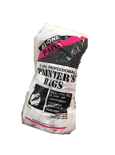 3 lb. Painter's Rag Bags (6 bags/cs.)