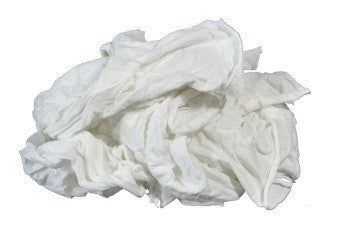 White Knit Shop Rags
