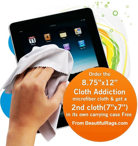 Cloth Addiction Screen Cleaning Rags