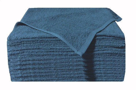 1 Dozen Ultra Soaker Car Wash Towels (Cobalt)
