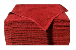 1 Dozen Ultra Soaker Car Wash Towels (Scarlet)
