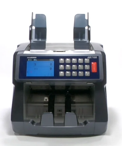 AB7100 money counter