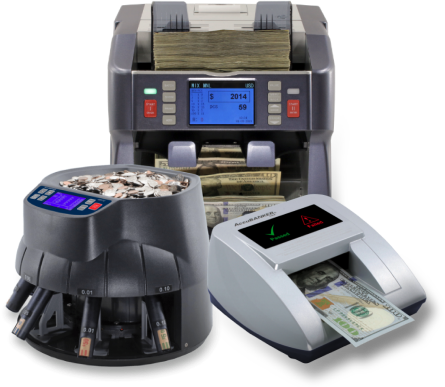 AccuBANKER counting machines