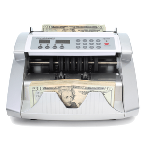 accubanker AB1050 bill counter front view