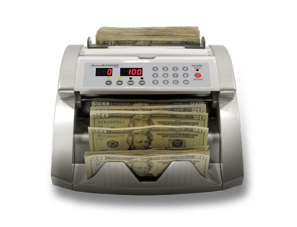 ab1050 bank grade bill counter display
