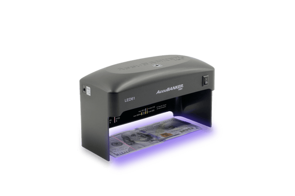 led61 counterfeit detector uv compact - front rotated left
