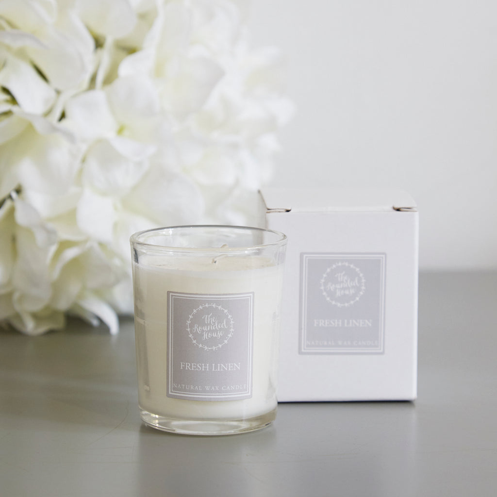 Fresh Linen Travel Candle
