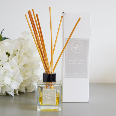 Orange Clove and Cinnamon Reed Diffuser
