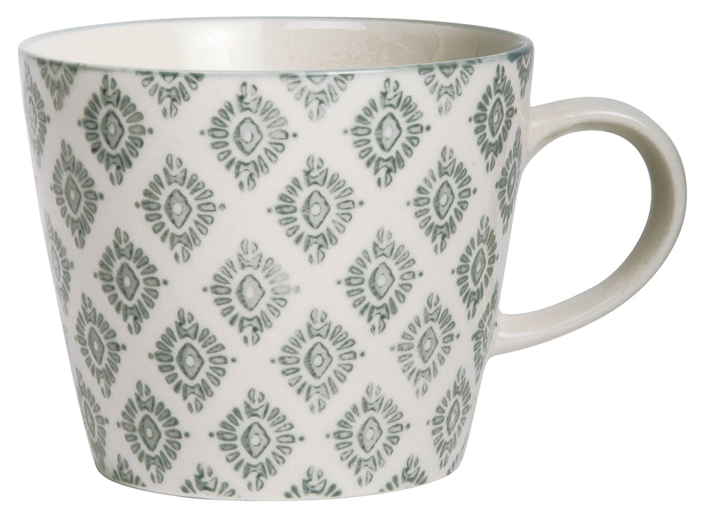 Greay Pattern Mug