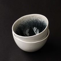 Grey and White Bowl