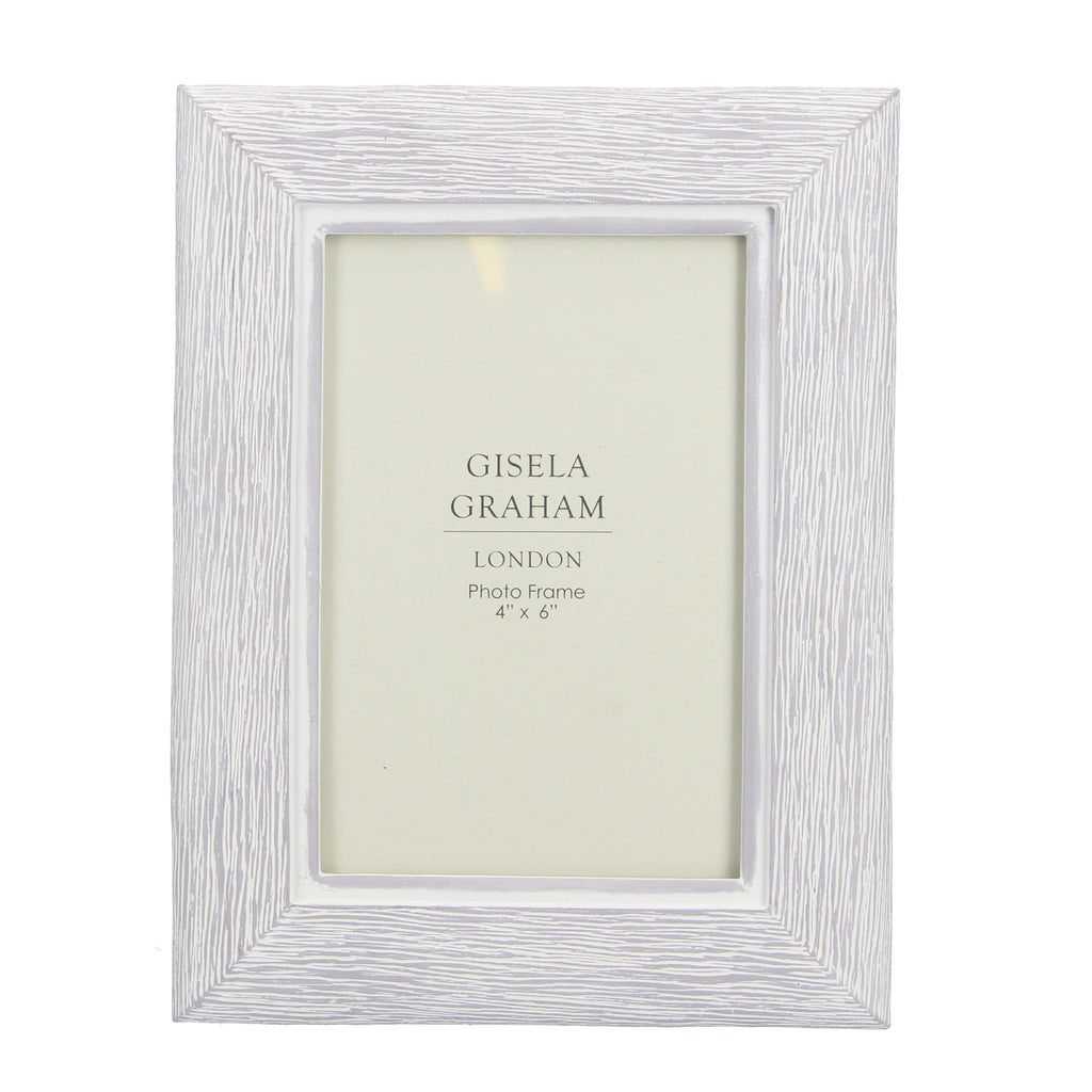 White and Grey Wood Effect Frame