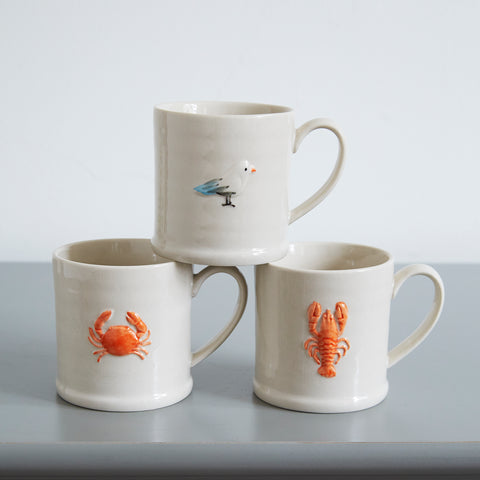 Little Mug with Crab Design