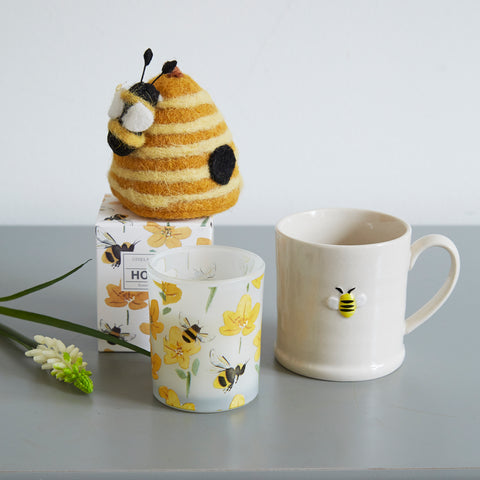 Little Mug with Bee Design