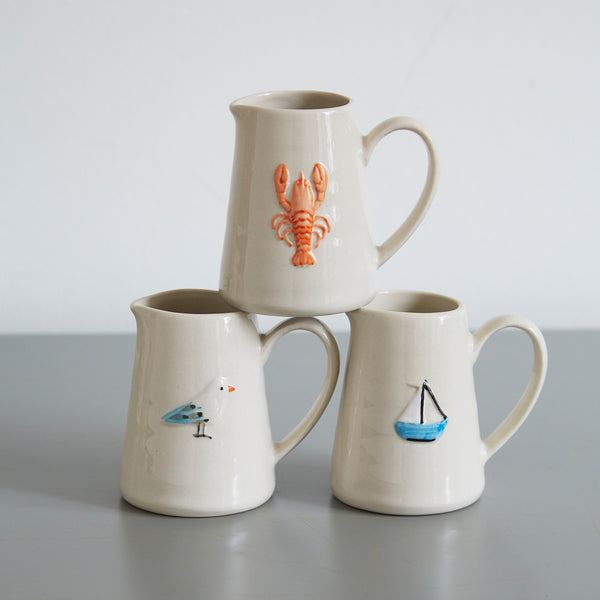 Mini Jug with Boat Design