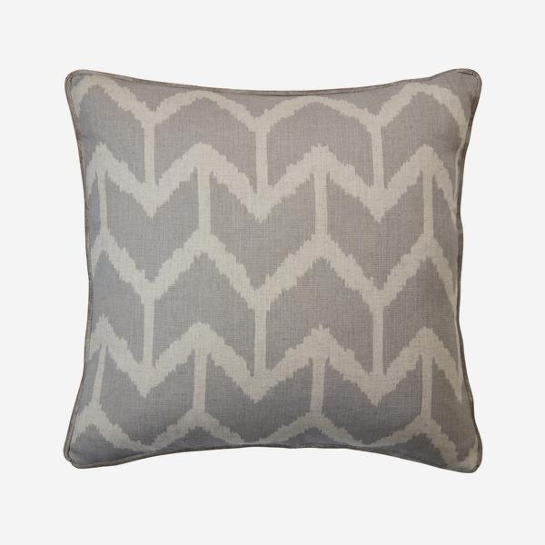 Stone chevon Design Cushion by Andrew Martin