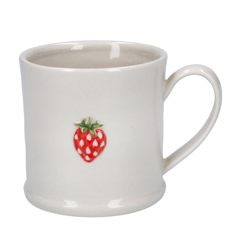Little Mug with Strawberry Design