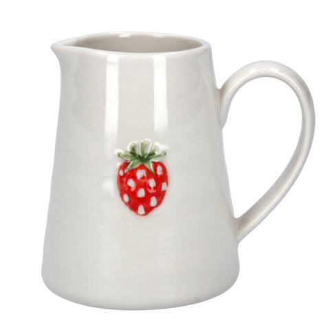 Mini Jug with Strawberry Design