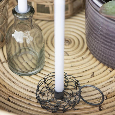 Wirework Candle Holder