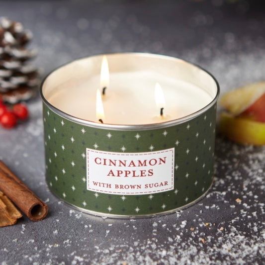 Cinnamon Apples Multi Wick Candle
