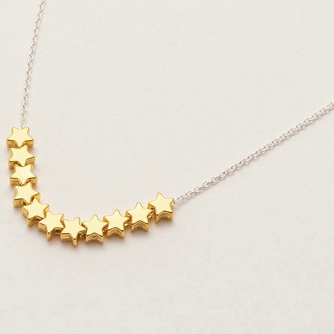 Multi Stars Necklace by Estella Bartlett