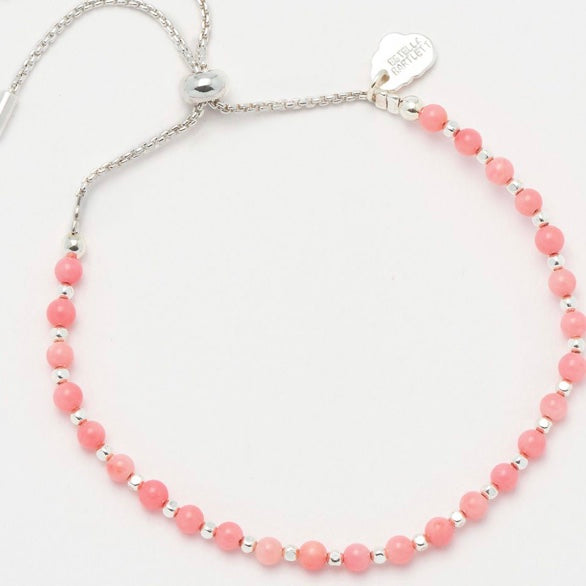 Coral Gemstone Bracelet by Estella Bartlett