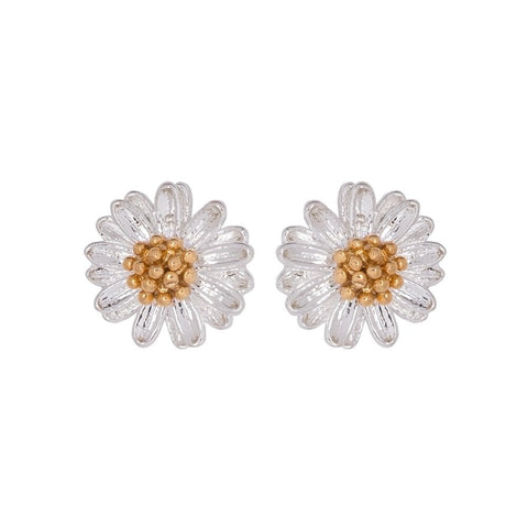 Wildflower stud earrings by Estella Bartlett
