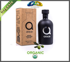 Atsas - Pure Organic Extra Virgin Olive Oil - High Phenolic Content - Harvest 2019 - OLYMPICCO.COM