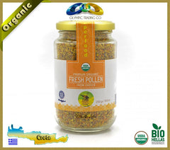 Usda Organic Raw Bee Pollen Smile 250 Gr - Superfood - OLYMPICCO.COM