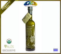 Organic Greek Superior Extra Virgin Olive Oil Alos - 500ml - OLYMPICCO