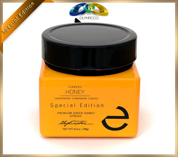 Eulogia of Sparta - Premium Honey with Turmeric and Spices - Special Edition- 298g - OLYMPICCO.COM