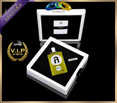 Lambda Ultra-Premium Extra Virgin Olive Oil - Bespoke White Gold Plated Edition - OLYMPICCO.COM