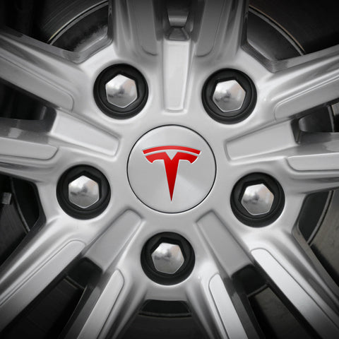 Tesla Wheel Decals