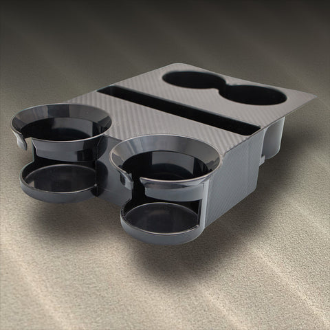 Tesla Cup Holders - Carbon Graphic Decal ONLY (Front)