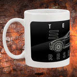 Tesla Model 3 Coffee Mug | Tesla Coffee Cup
