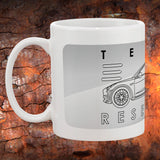Tesla Model 3 Coffee Mugs | Tesla Coffee Cups