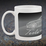 Tesla Model S Coffee Mugs | Tesla Coffee Cup | Tesla Pride