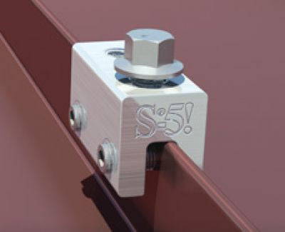 S-5-E Seam Clamp for Standing Seam Metal Roof Panels