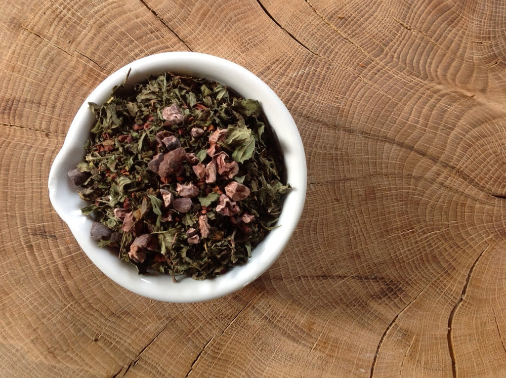 Mineral Rich Minty Cacao Tea - Daisy & Mallow