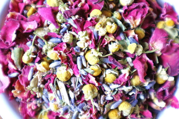 Wildflower Serentity Loose Leaf Tea - Daisy & Mallow